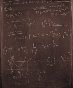 Bob and Mitzi's chalkboard